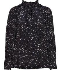 angeline blouse blouse lange mouwen zwart nué notes