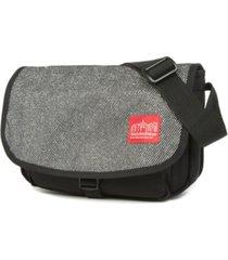 manhattan portage small midnight sohobo bag