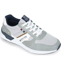 tenis  gris north star yommy r hombre
