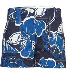 gaugler shorts flowy shorts/casual shorts blå by malene birger