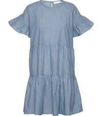 2nd loretta stripe korte jurk blauw 2ndday