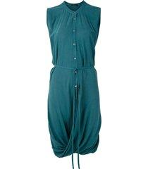 uma raquel davidowicz red short shirt dress - blue