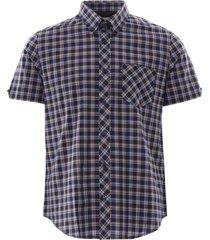 check shirt - dark navy 59086-025