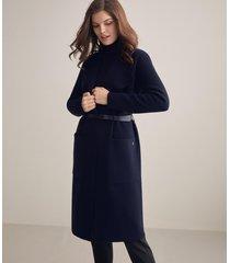 cappotto cashmere collo ampio