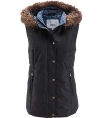 gilet trapuntato leggero (nero) - bpc bonprix collection