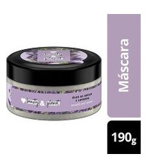 máscara de tratamento smooth and serene óleo de argan & lavanda love beauty and planet pote 190g
