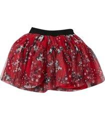 monnalisa red skirt