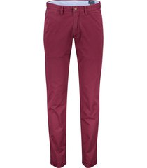 ralph lauren broek flatfront stretch bordeaux