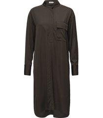 paige shirt dress jurk knielengte groen filippa k