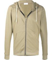 john elliott flash 2 full-zip hooded jacket - green
