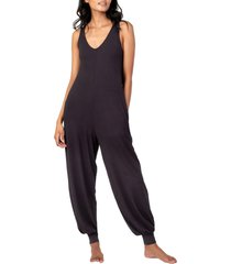 women's lively all day jumpsuit, size medium - black