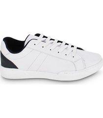 tenis hombre a dos colores blanco color blanco, talla 41