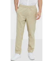 selected homme slhrelaxed-cooper linen pants w byxor offwhite