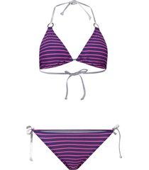 bikini con reggiseno a triangolo (blu) - rainbow