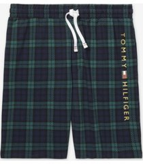 th modern essentials men's plaid lounge shorts