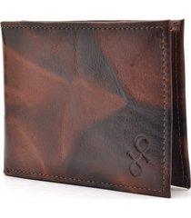 carteira de couro hendy bag caramelo e marrom plasticos removíveis