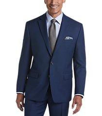 lauren by ralph lauren blue sharkskin classic fit suit