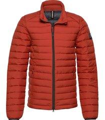 beret jacket man fodrad jacka orange ecoalf