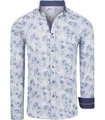 carisma overhemd bloemenprint navy