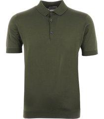 john smedley adrian polo shirt - sepal green