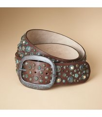 women's verdigris belt