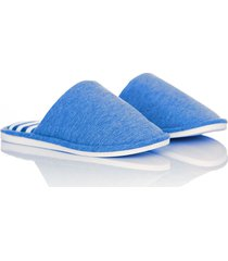 slippers comfy stripes thm mujer azul claro