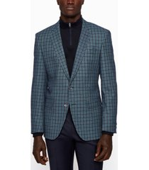 boss men's hutsons slim-fit jacket