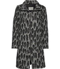 jacket wool wollen jas lange jas grijs betty barclay