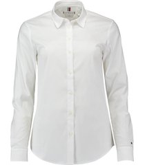 blouse heritage slim fit wit