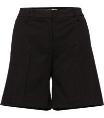 slfilue mw shorts b bermudashorts shorts svart selected femme