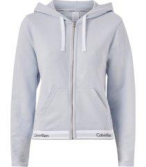 huvtröja top hoodie full zip