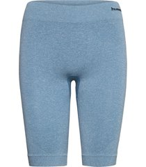hmlci seamless cycling shorts cykelshorts blå hummel