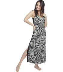 camisola regata longuete zebra lounge - kanui
