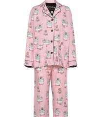 pyjama long pyjamas rosa pj salvage