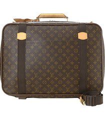 satellite 53 monogram canvas suitcase