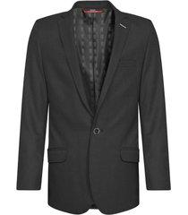 chaqueta casual pierre d'agostiny para hombre, ref tejido negro