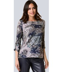 blouse alba moda marine::salie
