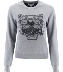 kenzo sweater with tiger embroidery