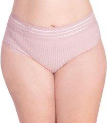 calcinha econfort modelo tanga cós rendado feminina - feminino