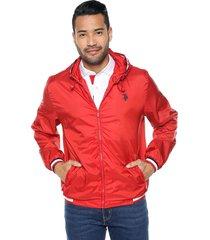 chaqueta rojo-blanco-azul us polo assn