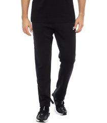 pantalón de buzo nike m nsw club pant oh bb negro - calce regular