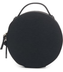 hudson+bleecker nomad round cosmetics case, size one size - preto