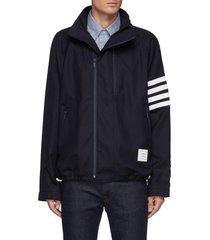 double front zipper raglan jacket