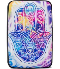 miami carryon collection rfid wallet credit card holder