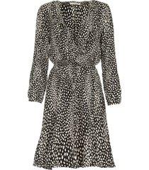 jurk met luipaardprint gianna  dierenprint