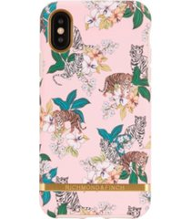 richmond & finch pink tiger case for iphone x and xs