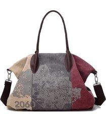 borsa multifunzionale per spalla borsa a grande capacità