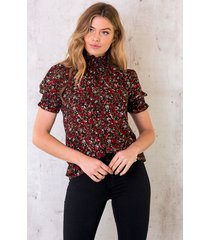 col top wild flower rood