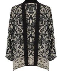 kimono met paisleyprint