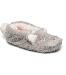 lion ballerina slippers tofflor grå hunkemöller